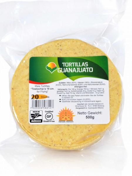 Maistortillas Tostochips zum Frittieren