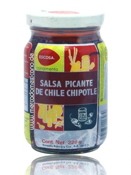Salsa Picante de Chile Chipotle Escosa