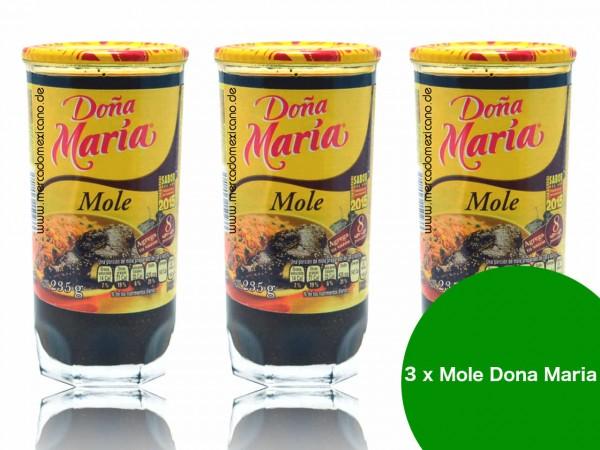 Mole Doña Maria en Pasta - 3er Pack