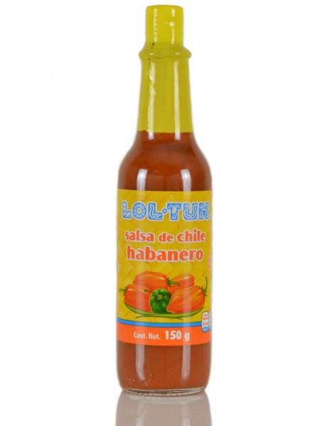Mexikanische Habanero Sauce Lol-Tun
