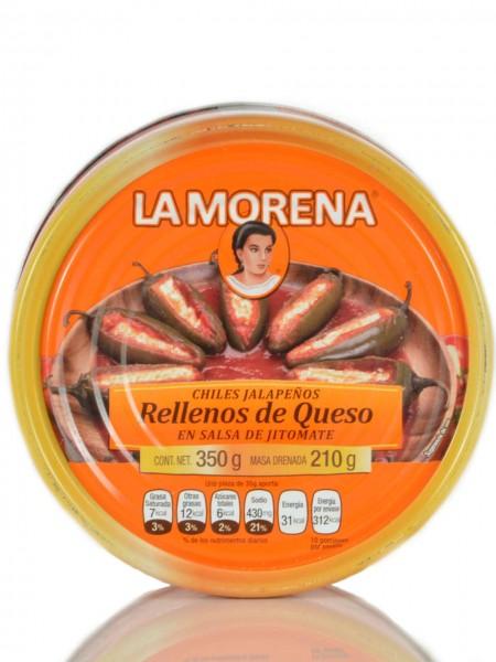 Chiles Jalapeños Rellenos de Queso en Salsa de Jitomate