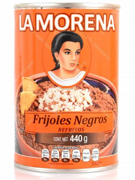Frijoles Negros Refritos La Morena