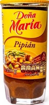 Pipián Doña Maria en Pasta 230 g