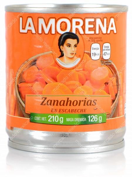 Zanahorias en escabeche La Morena