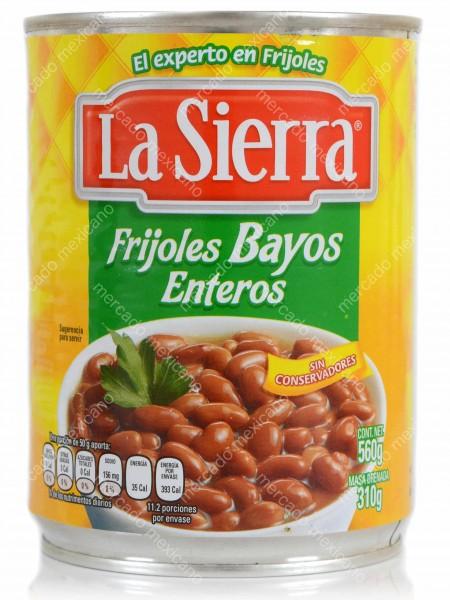 Frijoles Bayos Enteros La Sierra