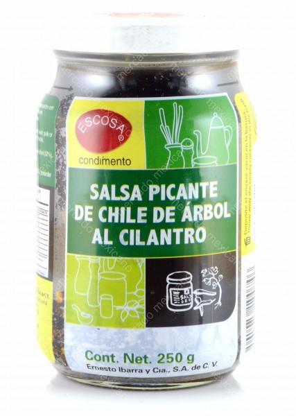 Salsa Picante de Chile de Arbol al Cilantro