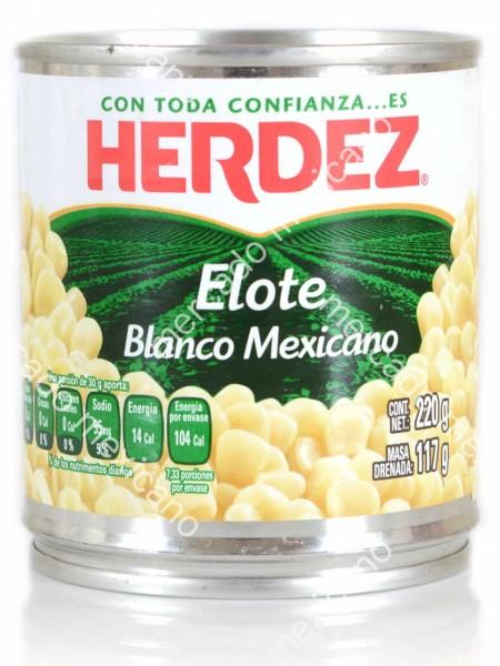 Elote Blanco Mexicano Herdez