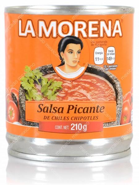 Salsa Picante de Chile Chipotles La Morena
