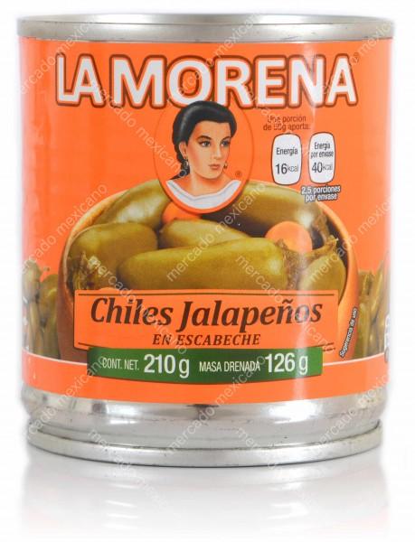 Chiles Jalapenos Enteros La Morena