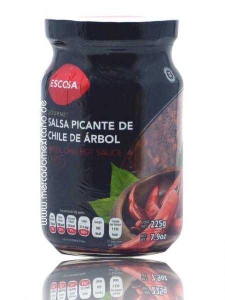 Salsa Picante de Chile de Arbol Escosa