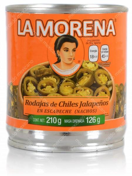 Jalapenos Nachts Verdes La Morena