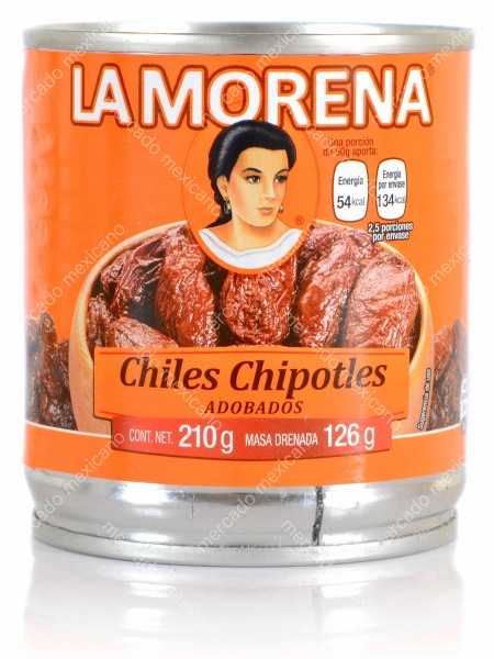 Chile Chipotles Adobados La Morena