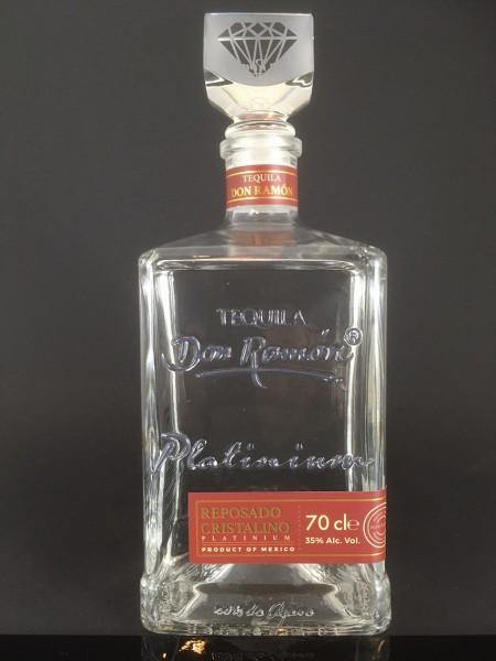 Tequila Don Ramón Reposado Cristalino Platinium