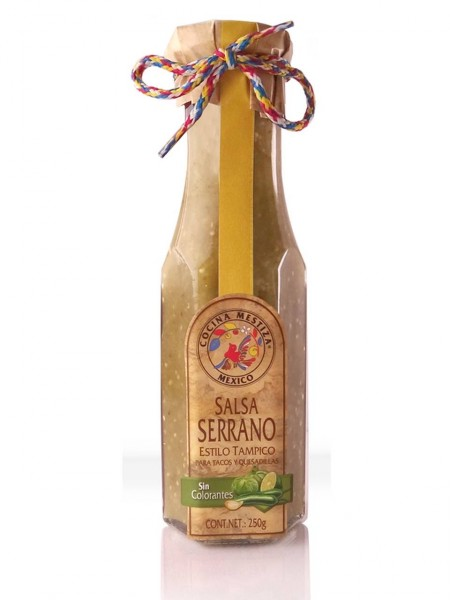 Salsa Serrano Estilo Tampico