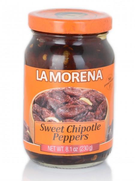 Sweet Chipotle Peppers La Morena